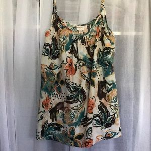 Floral Silky Cami
